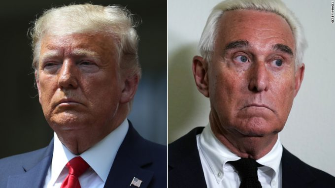 Trump Trying To Pardon Roger Stone