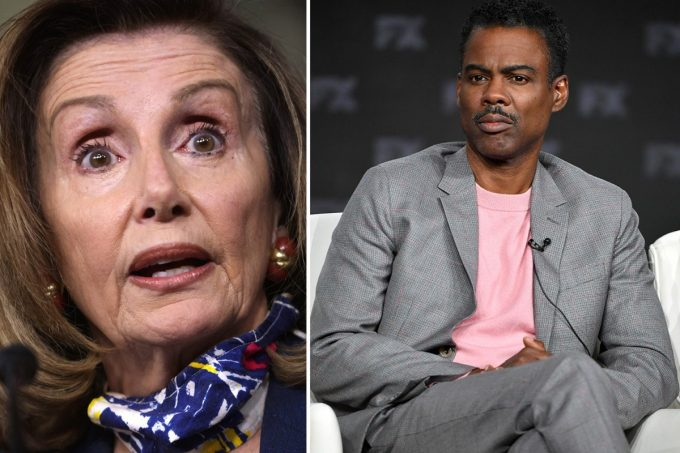 Chris Rock Criticizes Nancy Pelosi and Democratic Party over Trump Impeachment