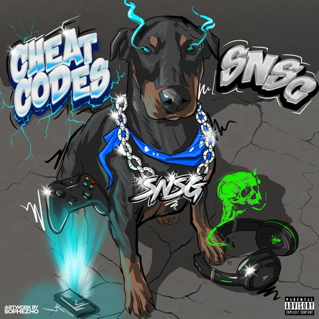 Peep The New Tape 'Cheat Codes' Released By Cali Rapper SNSG