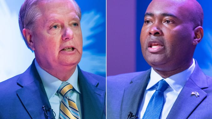 Democrat Jaime Harrison Claps Back with Fundraising Record