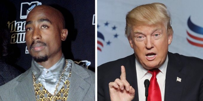 Tupac's Brother Speaks Out Against Trump on His Behalf