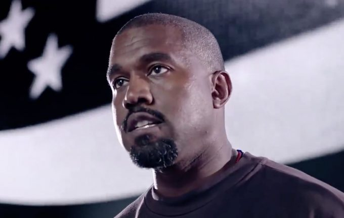 Kanye West, Chief Distractor Has New Campaign Ad