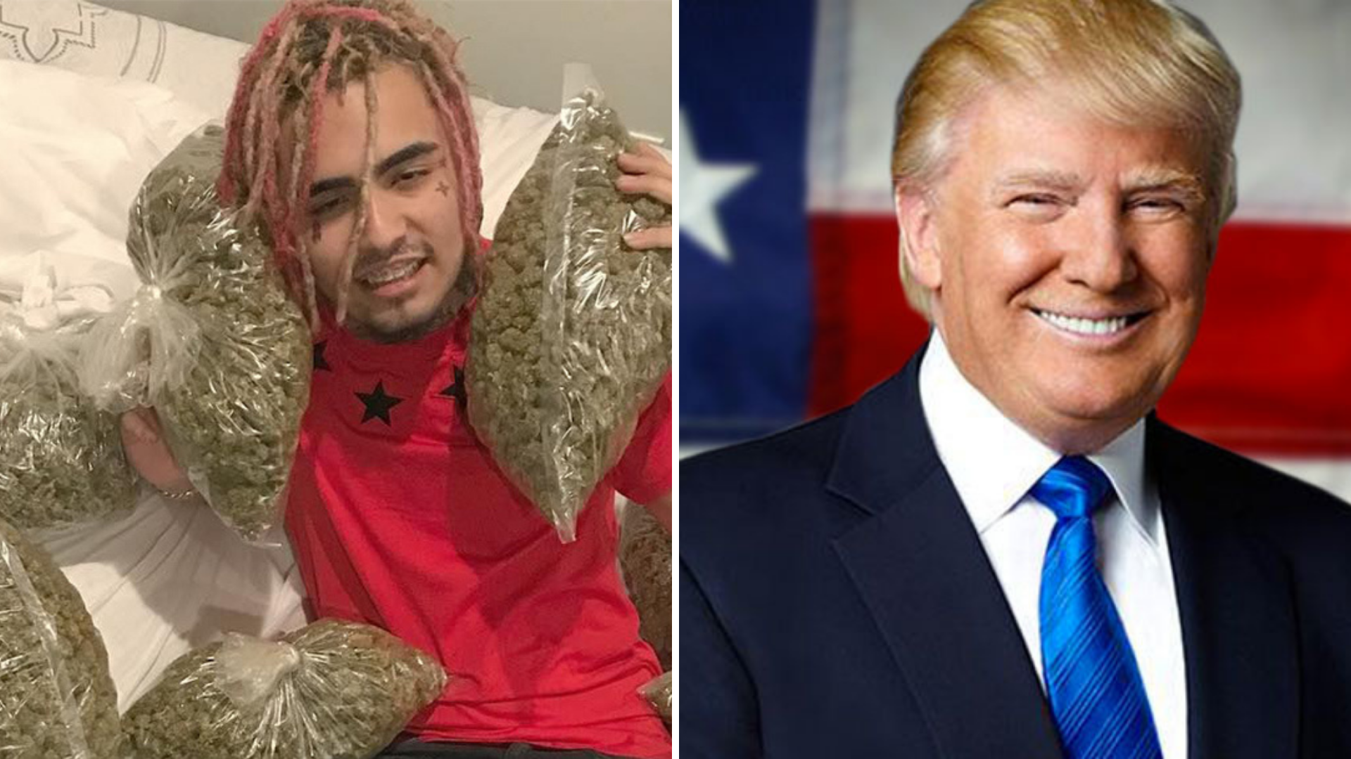 Lil Pump Joins List Of Rapper Who Are Voting Trump.