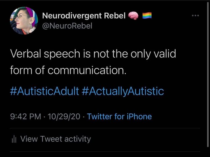"""I Was Born Autistic"": An Interview With The Neurodivergent Rebel"