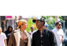 RIHANNA AND ASAP ROCKY SPOTTED