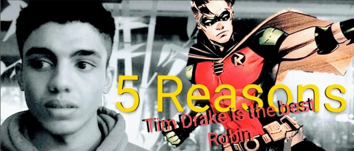 5 Reasons Tim Drake is the Best Robin