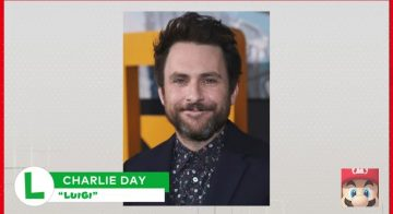 Charlie Day will perform voiceover as Luigi