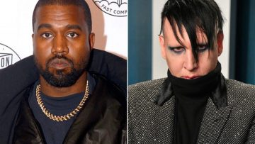 Kanye In Support Of Marilyn Manson